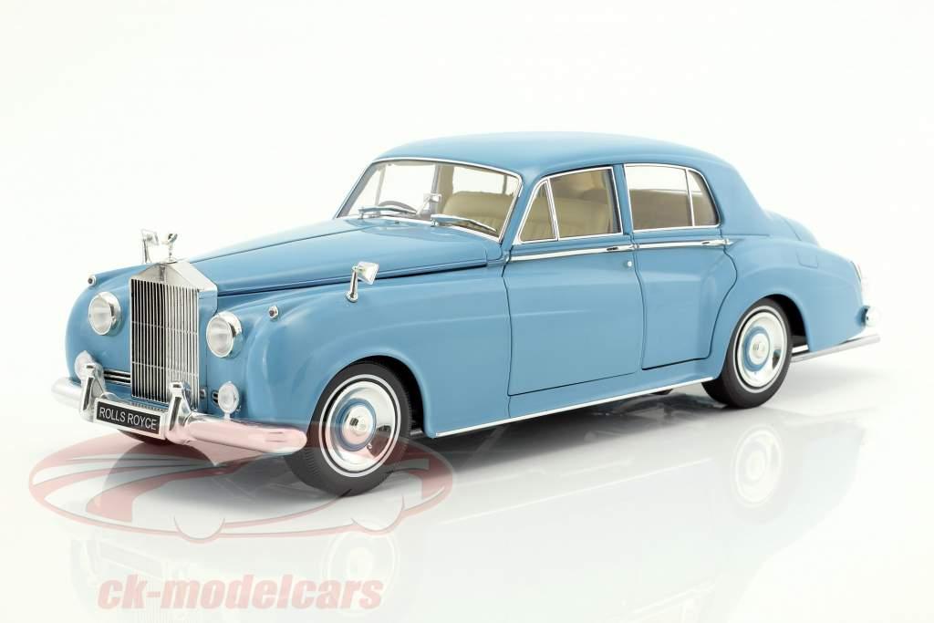 Rolls Royce Silver Cloud II year 1960 light blue 1:18 Minichamps