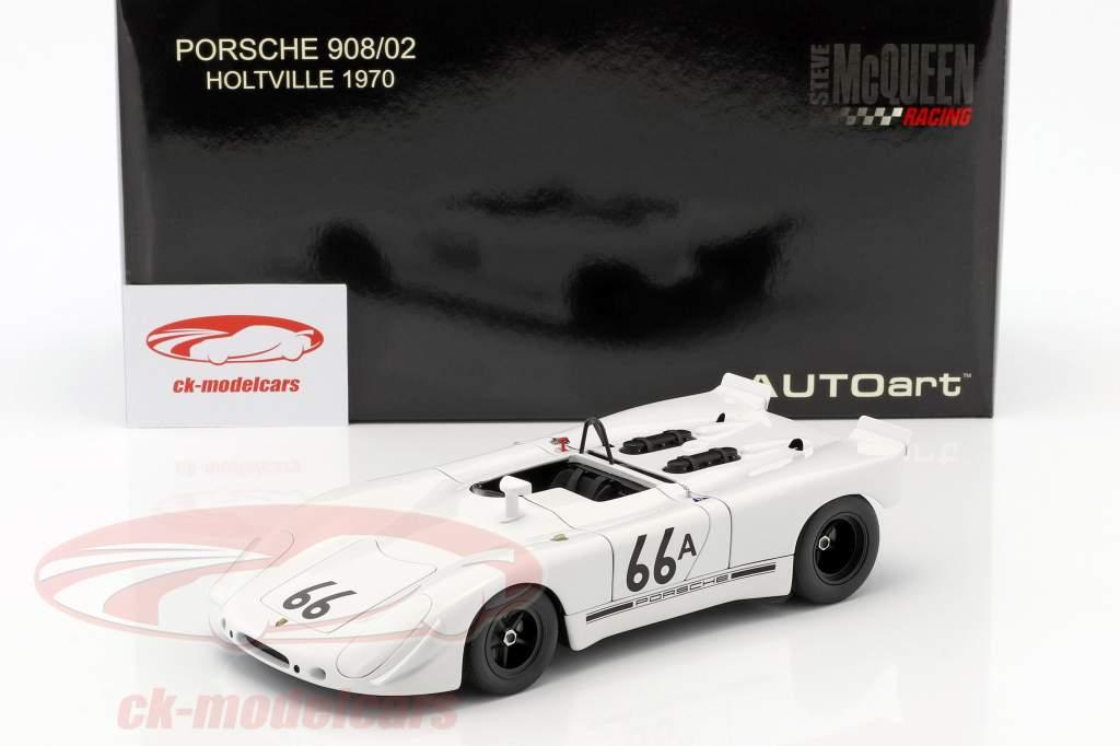 Porsche 908/02 Gulf Steve McQueen Holtville 1970 weiß 1:18 AUTOart