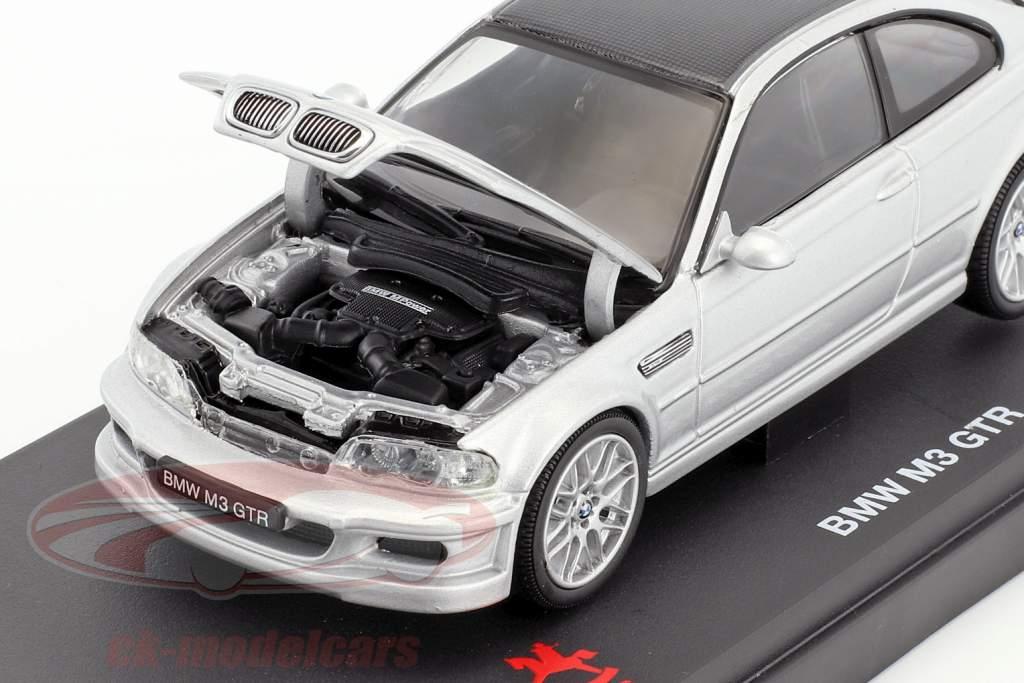 BMW M3 GTR ToyFair Nürnberg 2006 argent 1:43 Kyosho