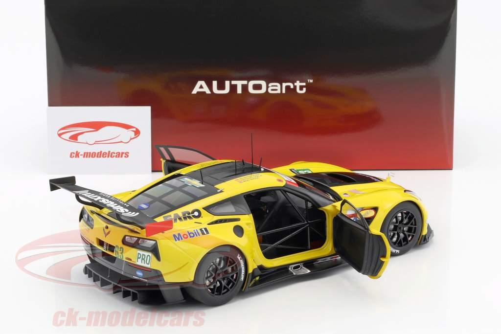 Chevrolet Corvette C7.R #63 24h LeMans 2016 Magnussen, Garcia, Taylor 1:18 AUTOart