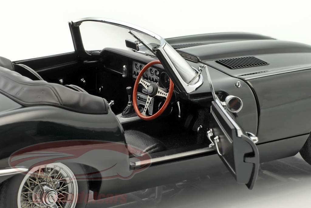 Jaguar E-Type Roadster Series I 3.8 Opførselsår 1961 british væddeløb grøn 1:18 AUTOart