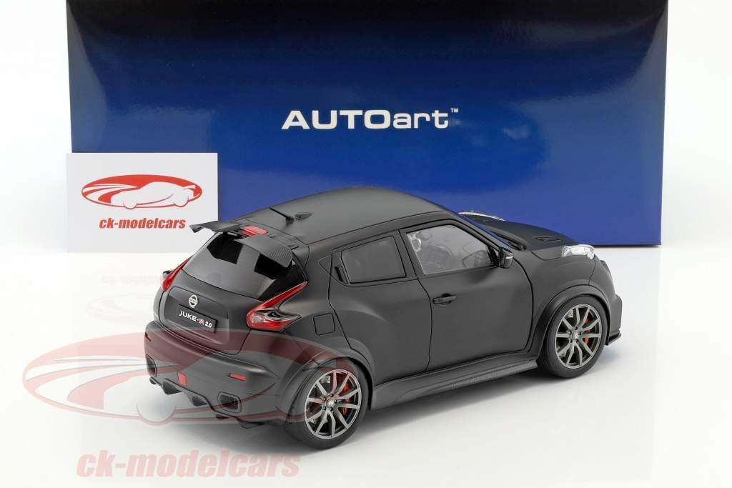 Nissan Juke R 2.0 year 2016 mat black 1:18 AUTOart