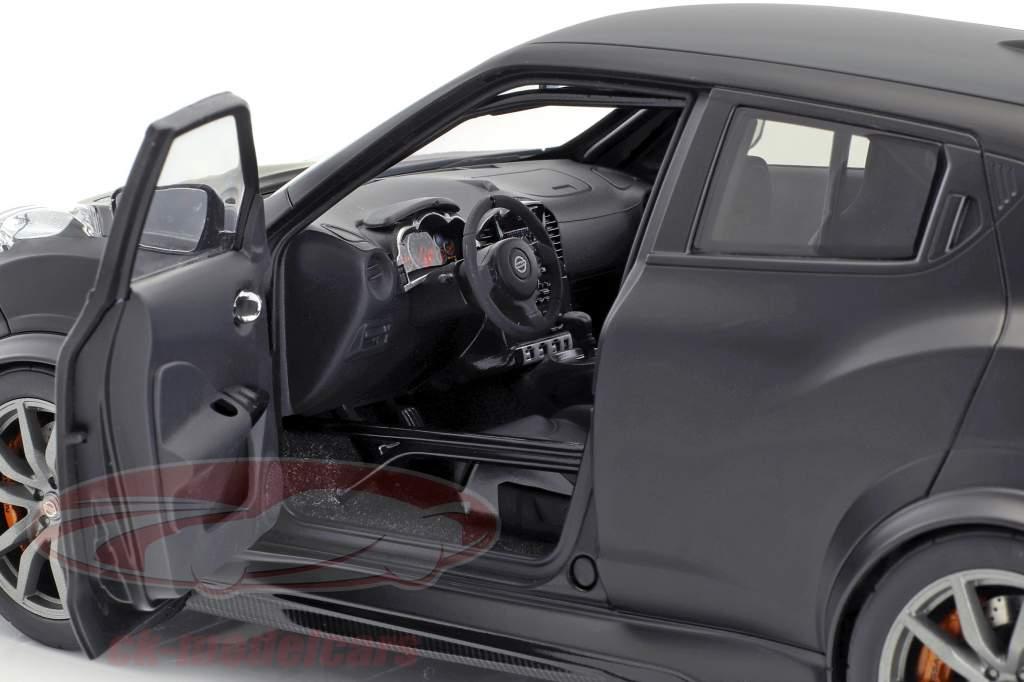 Nissan Juke R 2.0 Opførselsår 2016 måtten sort 1:18 AUTOart