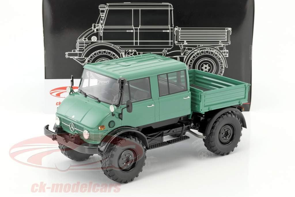 Mercedes Unimog 416 DoKa. vert / noir 1:18 PremiumClassiXXs