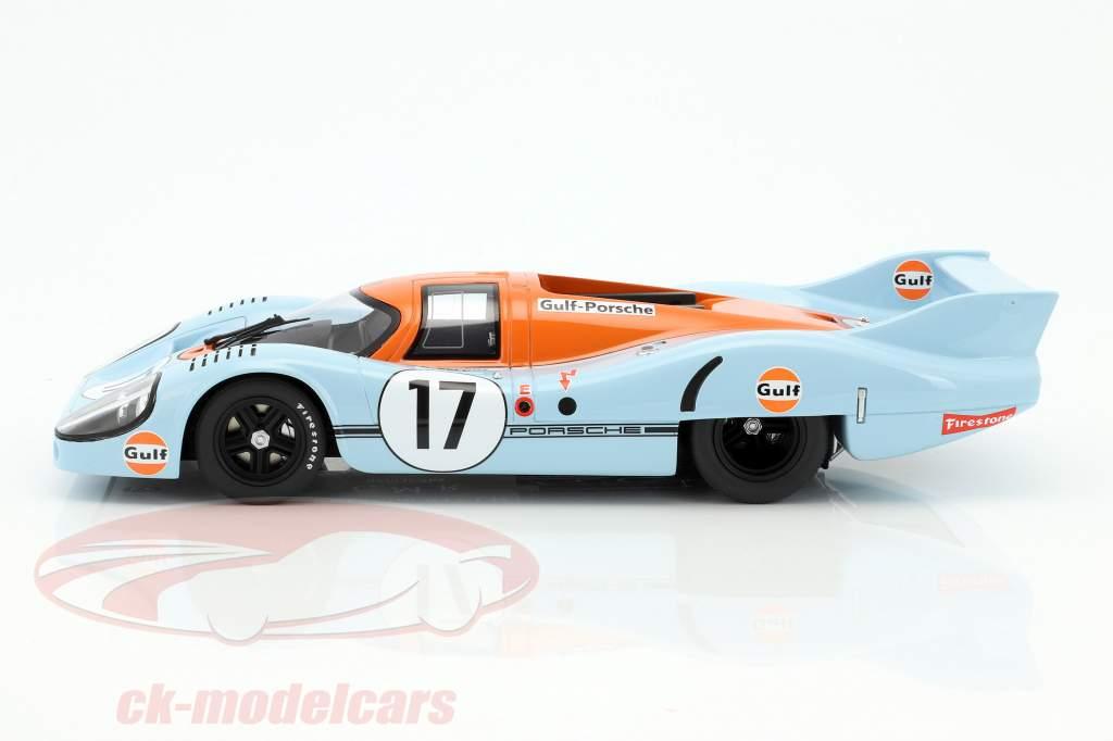 Porsche 917 LH #17 24h LeMans 1971 Siffert, Bell 1:18 CMR