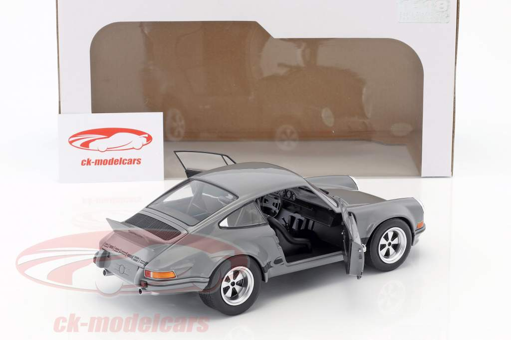 Porsche 911 Carrera 2.8 RSR year 1974 gray 1:18 Solido