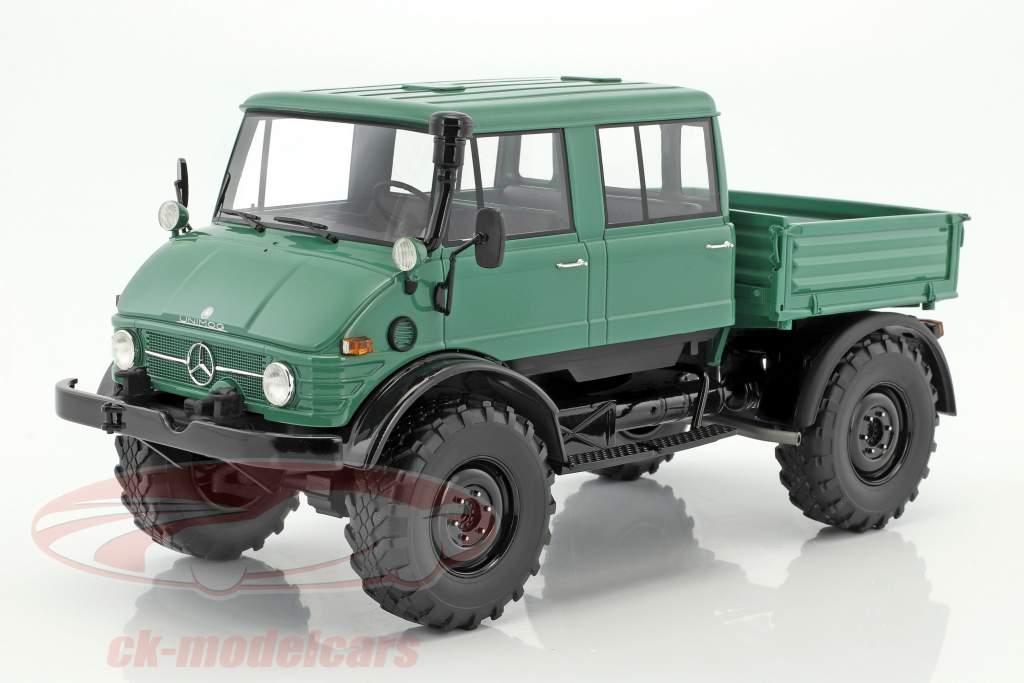 Mercedes Unimog 416 DoKa. green / black 1:18 PremiumClassiXXs