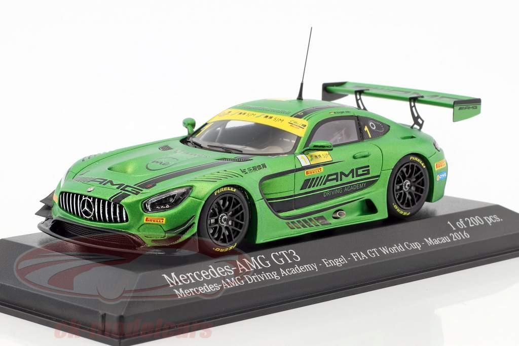 Mercedes-Benz AMG GT3 #1 FIA GT World Cup Macau 2016 Maro Engel 1:43 Minichamps