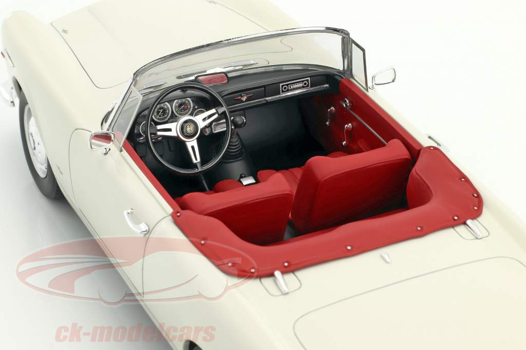 Alfa Romeo 2600 Spider Touring année de construction 1961 blanc 1:18 Cult Scale