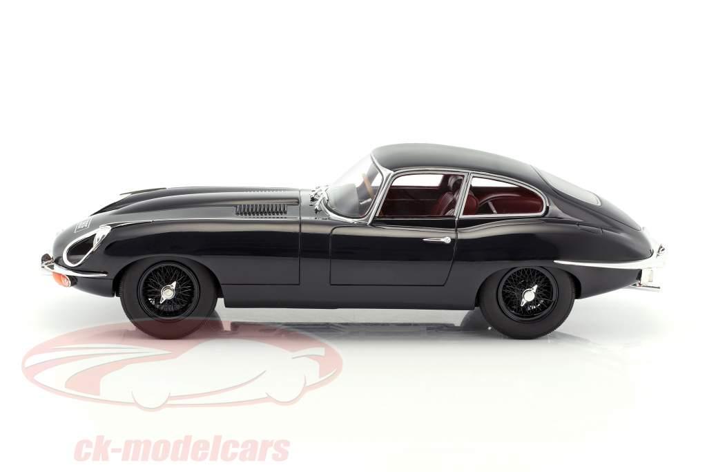 Jaguar E-Type Coupe Series II  year 1968 dark blue 1:18 Cult Scale