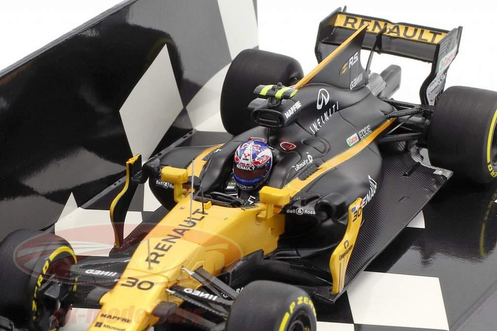 Jolyon Palmer Renault R.S.17 #30 Australia GP formula 1 2017 1:43 Minichamps