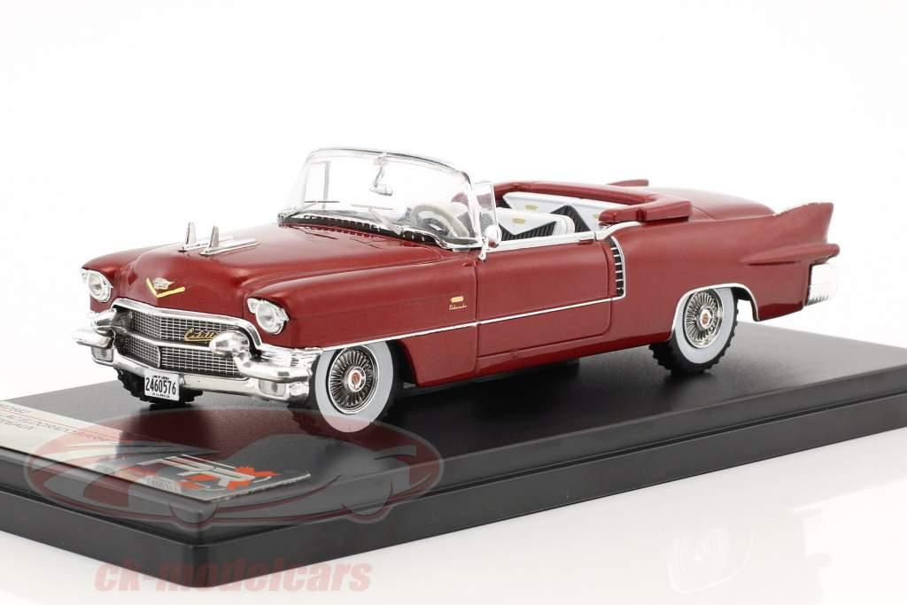 Ford thunderbird convertible amarillo año de construcción 1956 M = 1:43