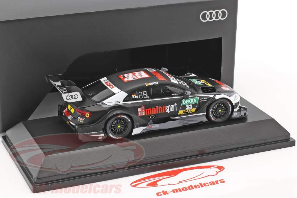 Audi RS 5 #33 DTM Champion 2017 Rene Rast 1:43 Spark