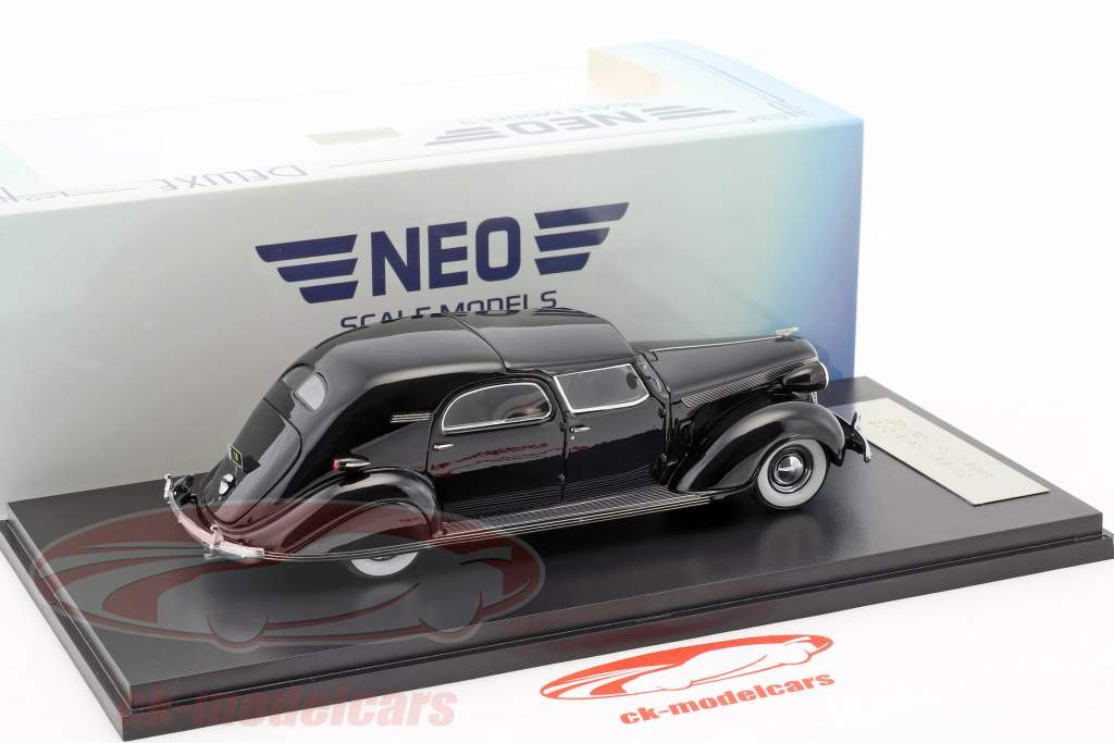 Chrysler Imperial C-15 Le Baron Town Car anno 1937 nero 1:43 Neo