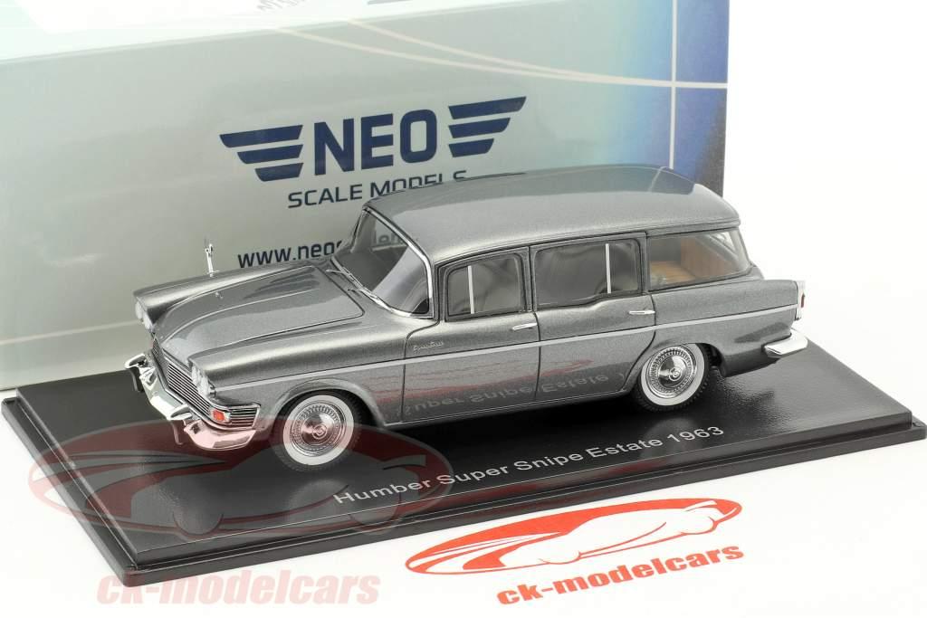 Humber Super Snipe Estate Baujahr 1963 grau 1:43 Neo