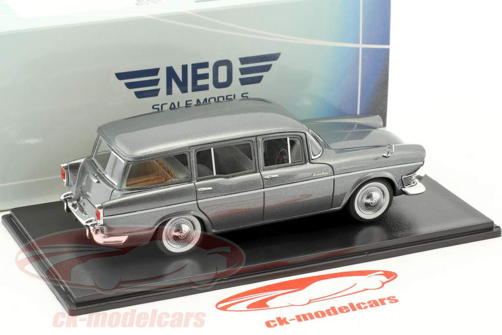 Humber Super Snipe Estate année 1963 gris 1:43 Neo