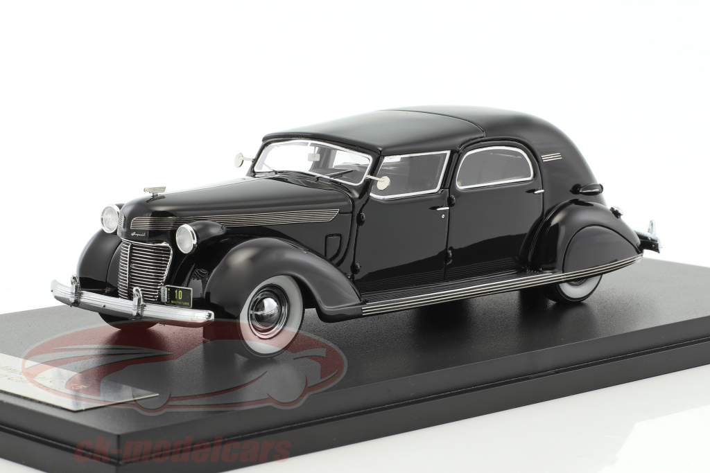 Chrysler Imperial C-15 Le Baron Town Car year 1937 black 1:43 Neo