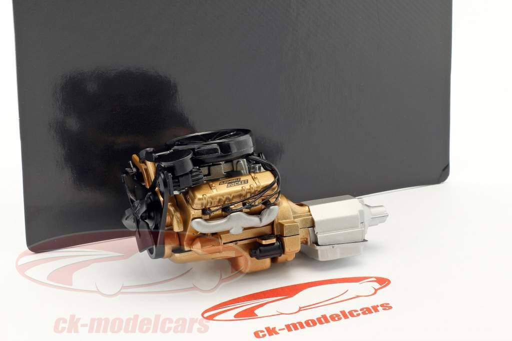 Oldsmobile Rocket motore & trasmissione 1:18 GMP