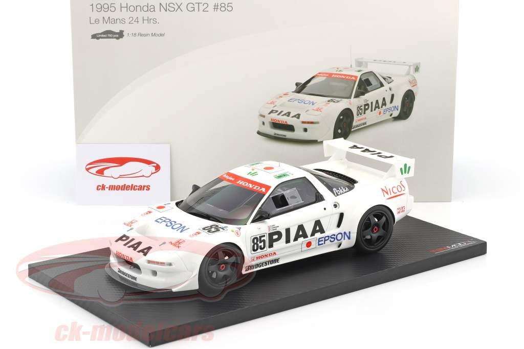 Honda NSX GT2 #85 qualificatif 24h LeMans 1995 Satou, Kurosawa, Tanaka 1:18 True Scale