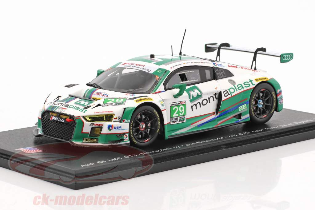 Audi R8 LMS GT3 #29 24h Daytona 2017 Mies, Schmidt, Gounon, de Phillippi 1:43 Spark