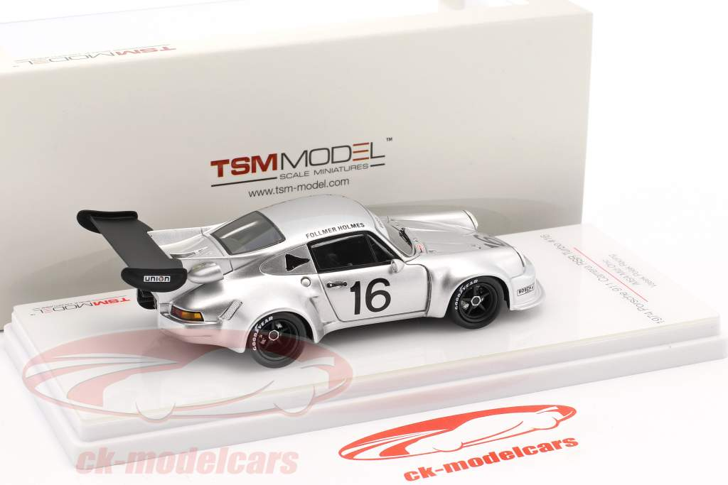 Porsche 911 Carrera RSR Turbo #16 IMSA Mid Ohio 1977 Follmer, Holmes 1:43 True Scale