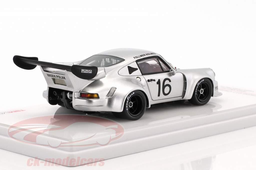 Porsche 911 Carrera RSR Turbo #16 IMSA Mid Ohio 1977 Follmer, Holmes 1:43 True Scale