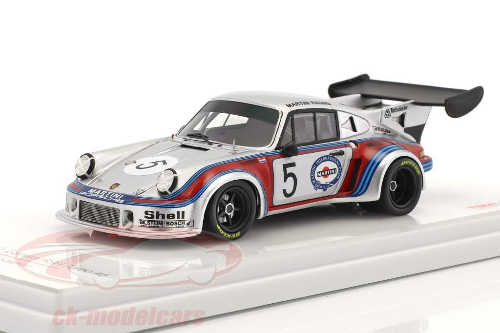 Porsche 911 Carrera RSR Turbo #5 5 1000km Brands Hatch 1974 Müller, van Lennep 1:43 True Scale
