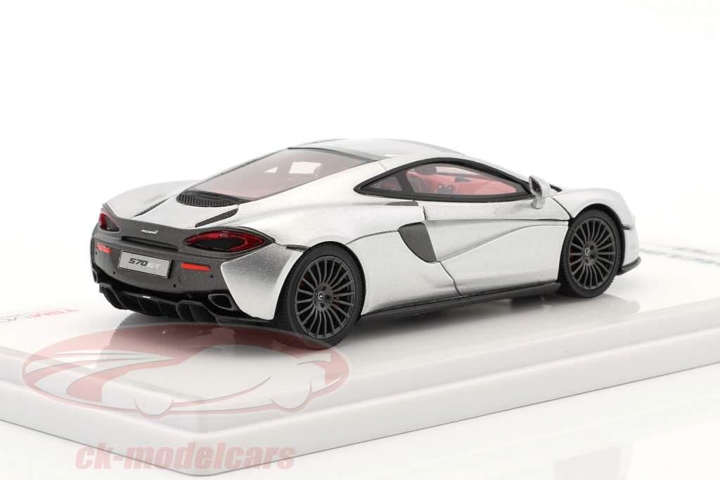 McLaren 570GT année de construction 2016 argent métallique 1:43 True Scale