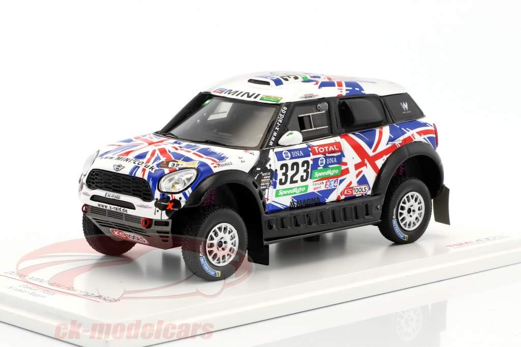 Mini All4 Racing #323 Rallye Dakar 2016 Hunt, Schulz 1:43 True Scale