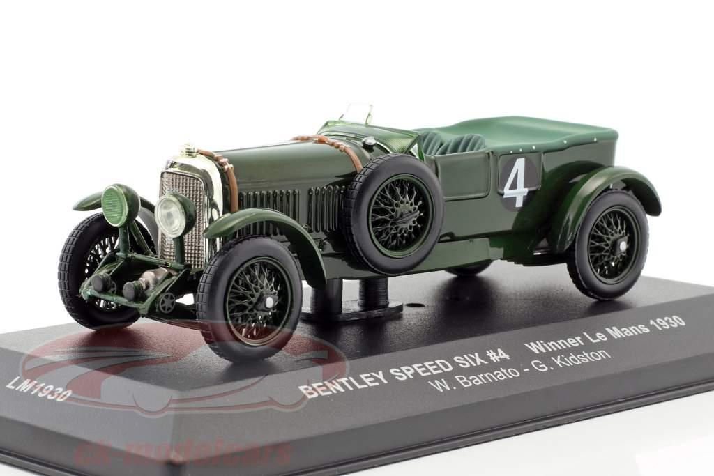 Bentley Speed Six #4 Barnato, Kidston gagnant 24h LeMans 1930 1:43 Ixo