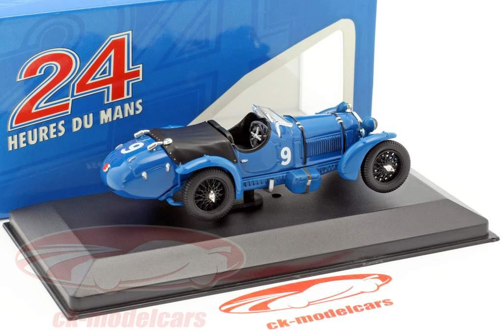 Alfa Romeo 8C º 9 Etancelin, Chinetti vencedor 24h LeMans 1934 1:43 Ixo