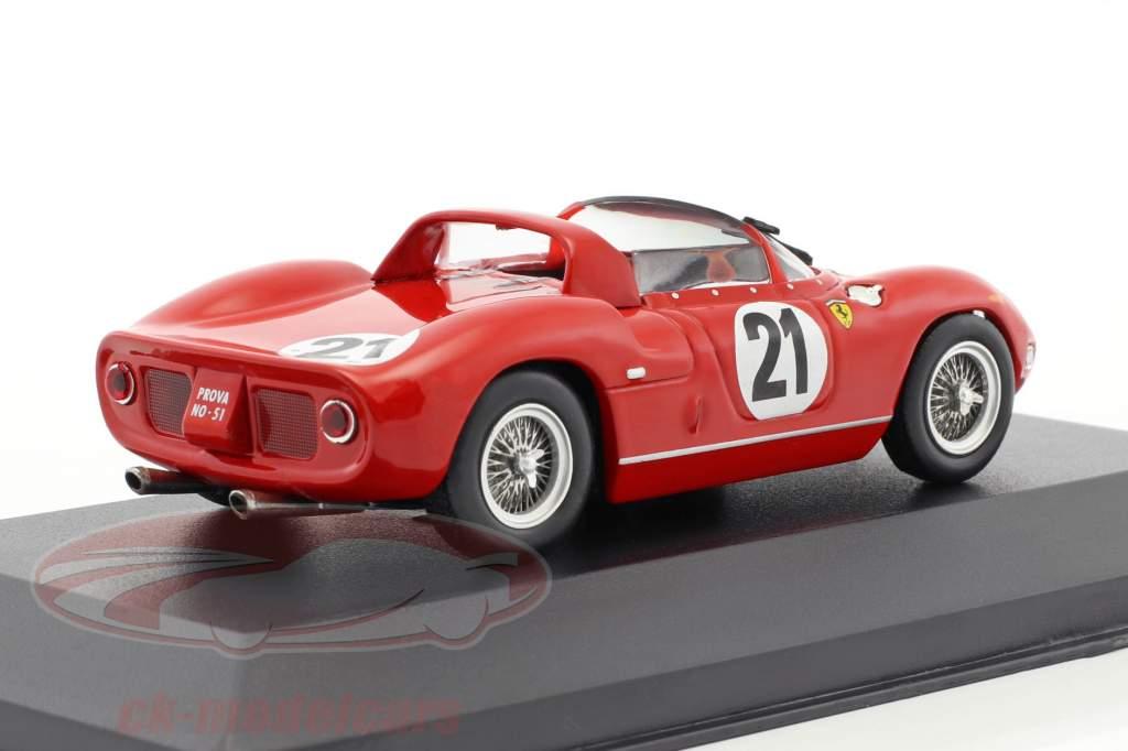 Ferrari 250P #21 Vinder 24h LeMans 1963 Scarfiotti, Bandini 1:43 Ixo