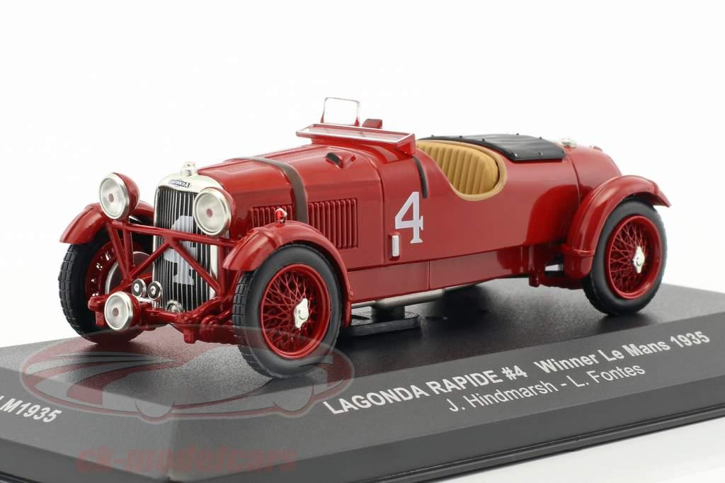 Lagonda Rapide #4 Winner Le Mans 1935 1:43 Ixo