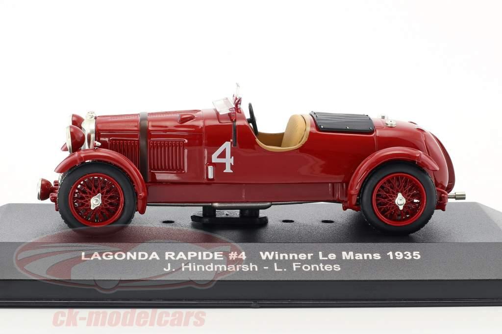 Lagonda Rapide #4 Vinder Le Mans 1935 1:43 Ixo