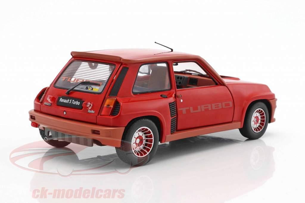 Renault R5 Turbo 1 Baujahr 1982 rot 1:18 Solido