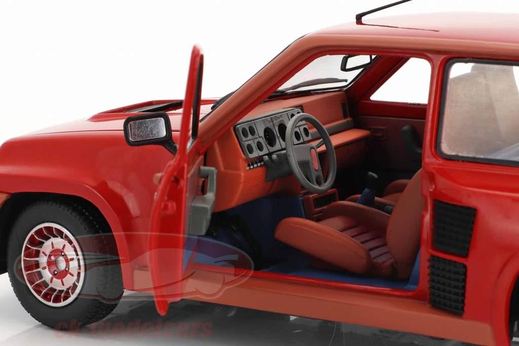 Renault R5 Turbo 1 Anno di costruzione 1982 rosso 1:18 Solido