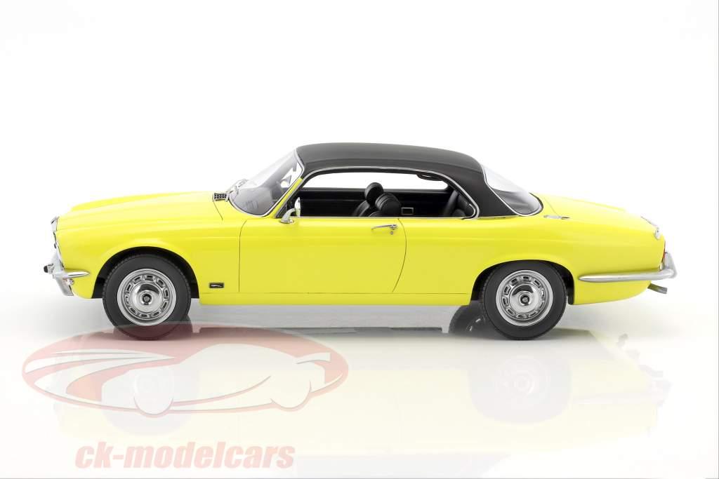 Jaguar XJ 4.2C RHD année de construction 1974 jaune / noir 1:18 BoS-Models
