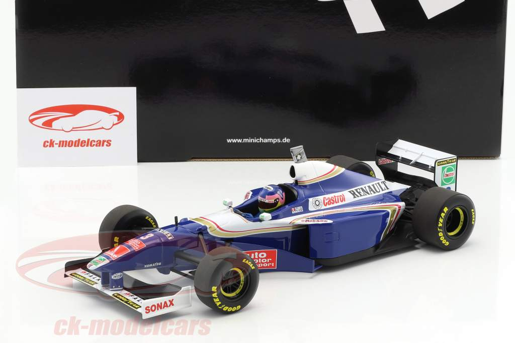 Jacques Villeneuve Williams FW19 #3 campione del mondo formula 1 1997 1:18 Minichamps