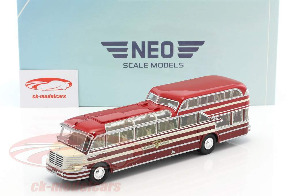 Krupp SW O 480 année de construction 1951 rouge / blanc 1:43 Neo