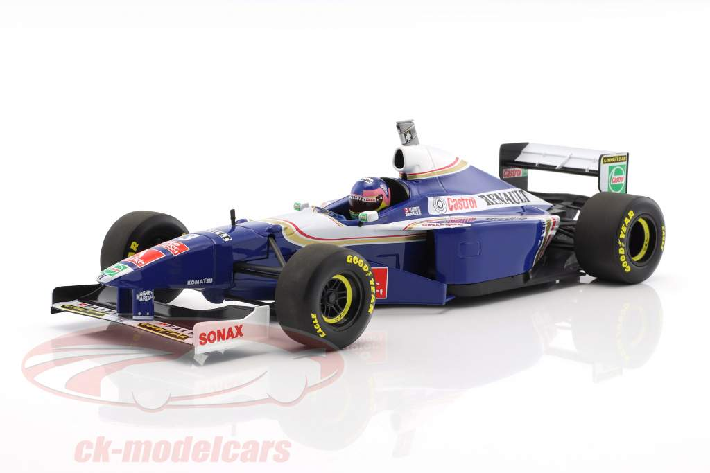 Jacques Villeneuve Williams FW19 #3 Weltmeister Formel 1 1997 1:18 Minichamps