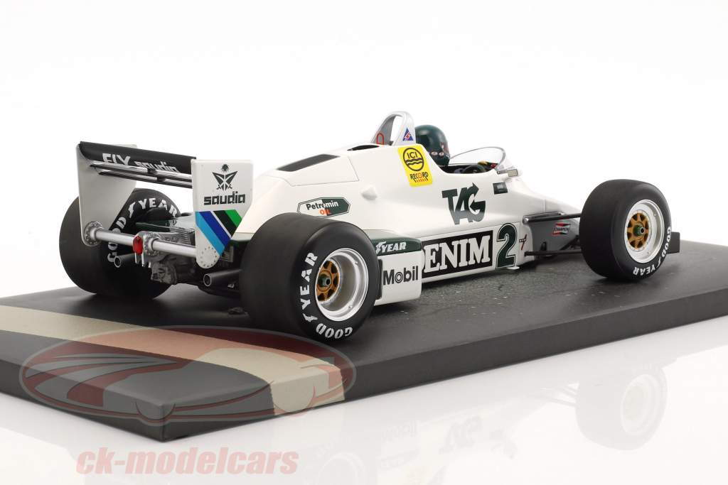 Jacques Laffite Williams FW08C #2 formula 1 1983 1:18 Minichamps