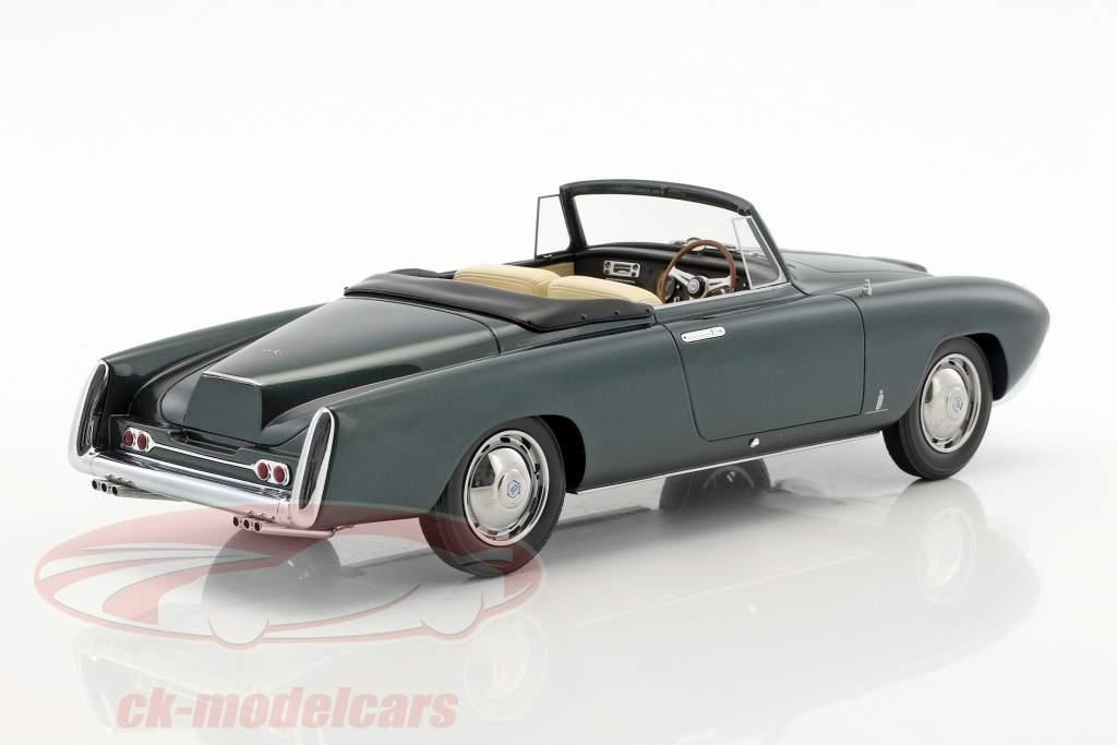 Lancia Aurelia PF200 cabriolet anno di costruzione 1953 verde scuro metallico 1:18 BoS-Models