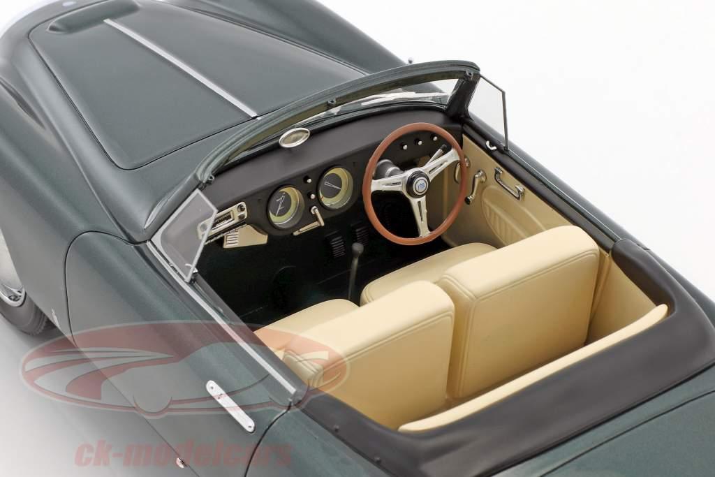 Lancia Aurelia PF200 Cabriolet Bouwjaar 1953 donkergroen metalen 1:18 BoS-Models