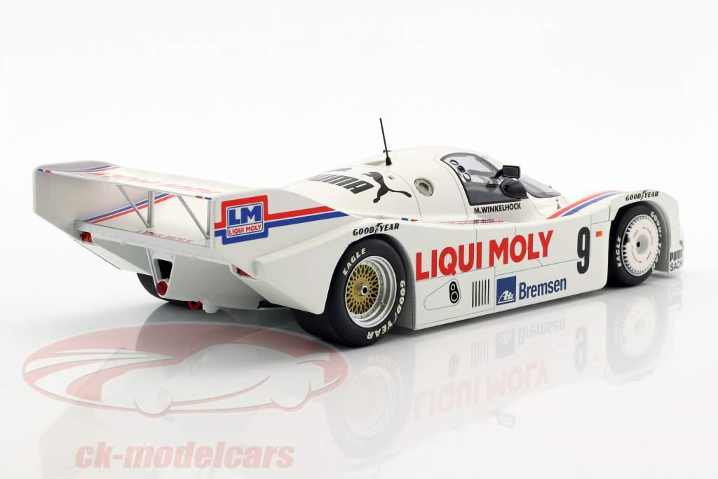 Porsche 962C #9 3 ° Norisring Trophäe 1985 Winkelhock 1:18 Minichamps