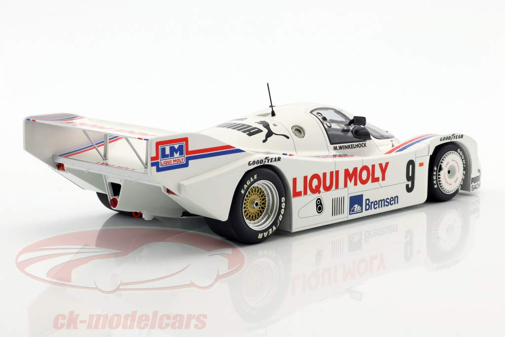 Porsche 962C #9 3rd Norisring Trophäe 1985 Winkelhock 1:18 Minichamps