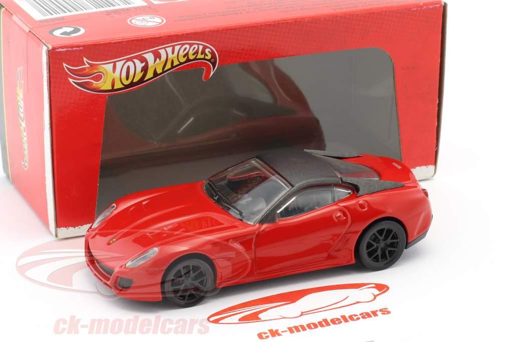 Ferrari 599 GTO year 2010 red / black 1:43 HotWheels