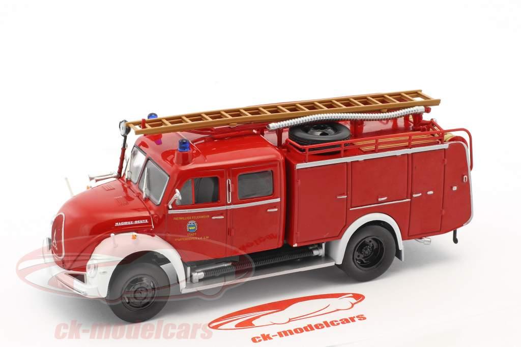 Magirus Deutz brandvæsen Pfaffenhofen rød 1:43 Atlas