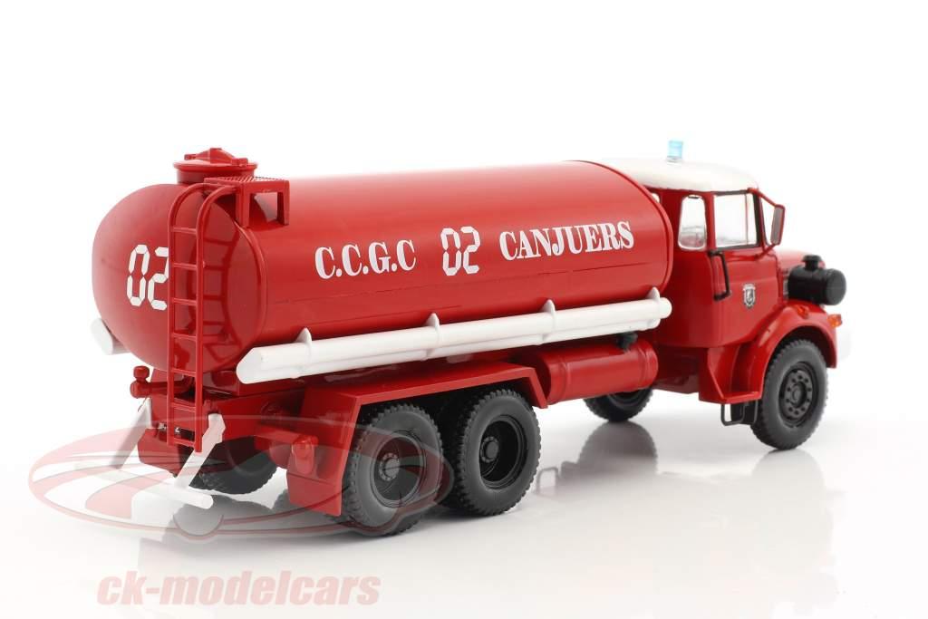 Renault Type GBH 280 6x6 CCGC de Canjuers Feuerwehr rot / weiß 1:43 Atlas