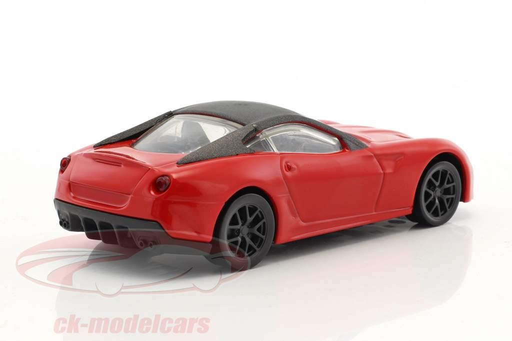Ferrari 599 GTO année de construction 2010 rouge / noir 1:43 HotWheels