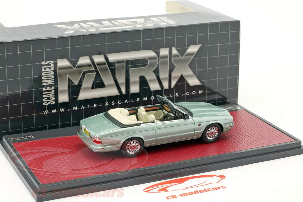Daimler Corsica Concept Cabriolet Baujahr 1995 hellgrün metallic 1:43 Matrix